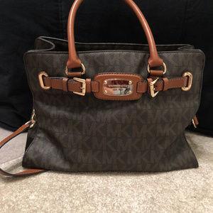 Michael Kors Leather Logo Bag